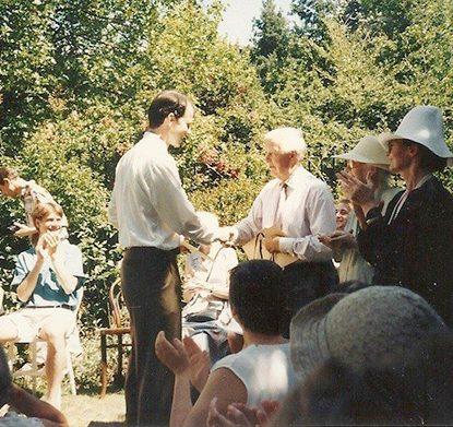 Festa de Formatura CTC – Julho 1995